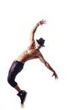 裸体舞蹈演员 免版税图库摄影
