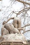 裸体雕象在杜布罗夫尼克 免版税图库摄影
