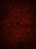 褐巧克力色锦叶子背景 免版税库存照片
