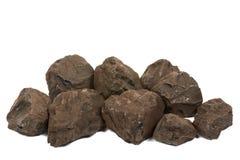 褐煤煤炭 免版税库存照片