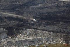 褐煤采矿 免版税库存图片