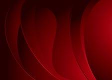 褐红使膨胀变成熟 免版税图库摄影