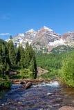 褐红的响铃夏天风景 库存图片