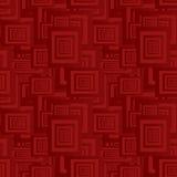 褐红的无缝的样式 库存照片
