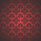 褐红的样式墙纸 库存图片