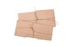 褐色包装小 免版税库存图片