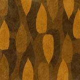 褐色叶子 免版税库存图片
