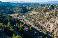 褐色峡谷国家历史文物 库存图片