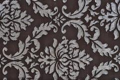 褐色的被仿造的织品纹理 库存照片