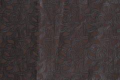 褐色的被仿造的织品纹理 库存图片