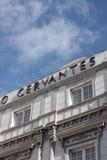 西万提斯・马拉加剧院 免版税库存图片