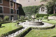 西万提斯・ de garden房子米格尔 库存图片