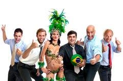 巴西世界杯2014年 库存照片