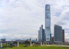 西九龙,香港 库存照片