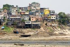 巴西人亚马逊社区 库存照片