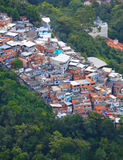 巴西人Favela 图库摄影