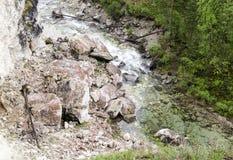 西伯利亚共和国的山河布里亚特共和国 库存照片