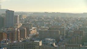 西伯利亚市政风景在冬天 影视素材