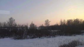 西伯利亚春天风景 影视素材