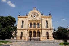西伯来犹太教堂在佩奇匈牙利 库存照片