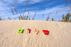 西伯来词shalom意思和平 免版税库存图片