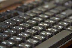 西伯来/英国键盘 免版税库存图片