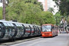 巴西公共汽车 免版税库存照片