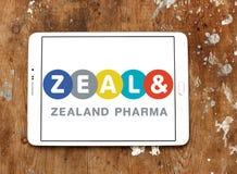 西兰pharma公司商标 库存图片