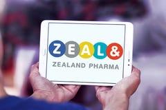 西兰pharma公司商标 免版税图库摄影