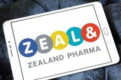 西兰pharma公司商标 免版税库存照片