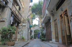 西关古董城市广州中国 免版税库存图片