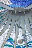 巴西利亚大教堂 库存照片
