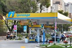 巴西加油站 免版税库存图片