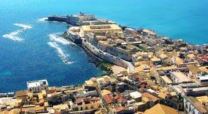 西勒鸠斯,西西里岛 免版税图库摄影