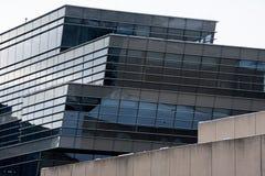 西北大学大厦墙壁 免版税图库摄影