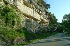 西南密苏里的风景 免版税库存照片