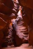 西南峡谷的槽 库存照片