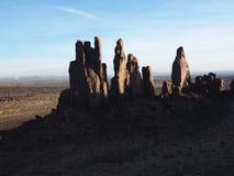 西南沙漠的横向 图库摄影