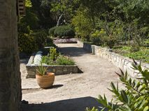 西南的庭院 免版税图库摄影