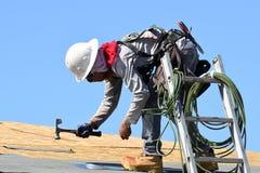 西南的新的家庭建筑 免版税库存图片