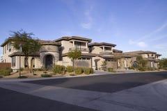 西南结构美丽的房子 库存照片