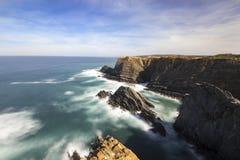 西南阿连特茹和Vicentine海岸自然公园 免版税库存照片
