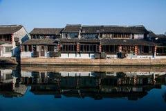 西塘六个南部的镇  免版税库存照片