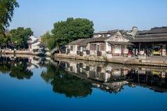 西塘六个南部的镇  库存图片