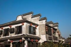 -----西塘古典建筑六个南部的镇  库存照片