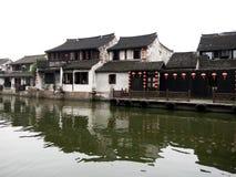 西塘古镇 免版税库存照片