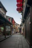 -----西塘胡同六个南部的镇  免版税图库摄影