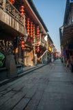 -----西塘胡同六个南部的镇  免版税库存图片