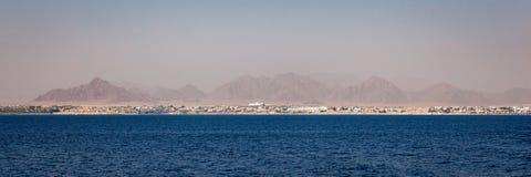 西奈半岛风景全景 库存图片