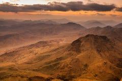 西奈山 埃及 图库摄影